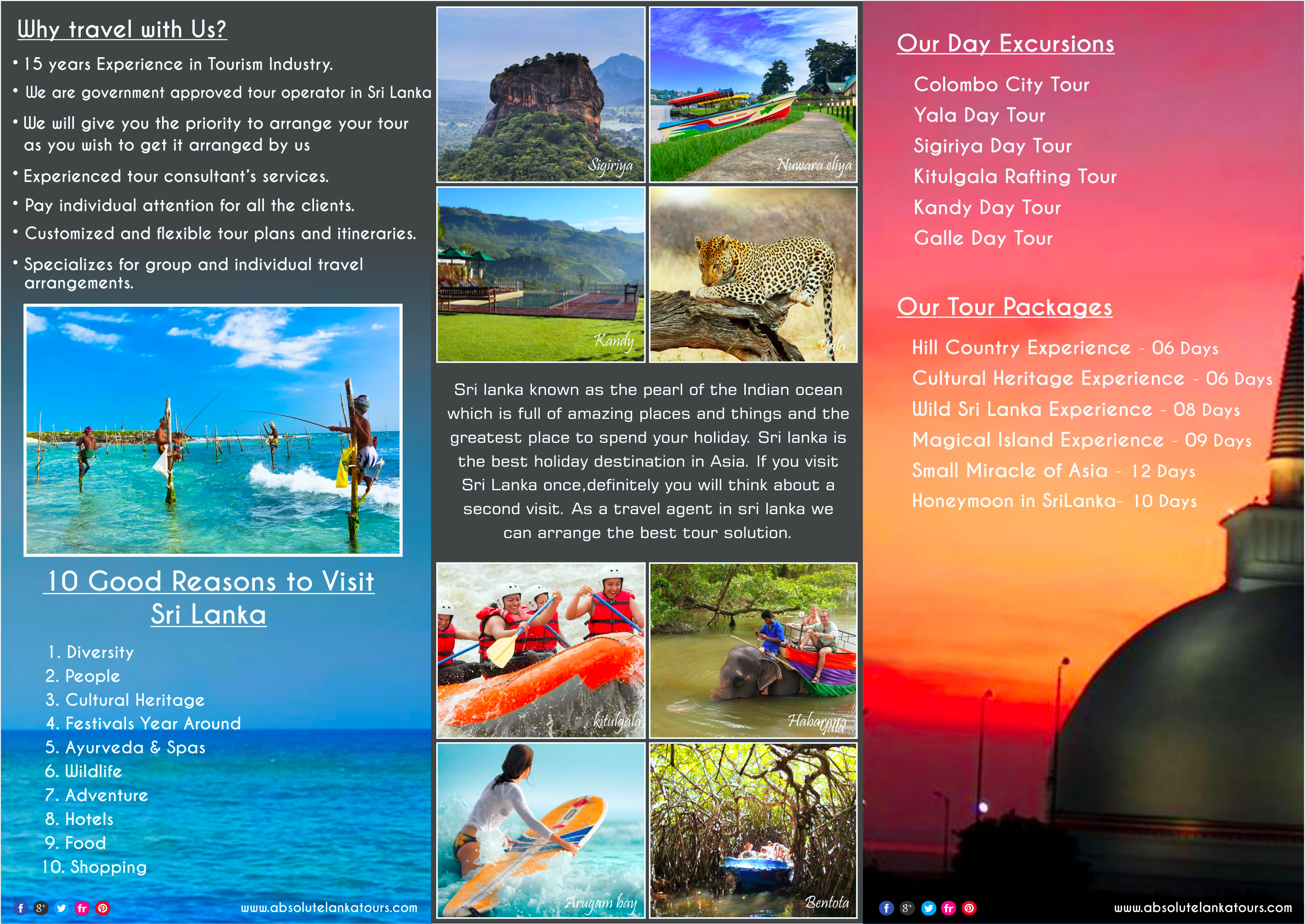 sri lanka travel tourism With a recorded history dating back to 543 bc, sri lanka has a rich culture to   tourism has witnessed some of the toughest price competition in today's world.
